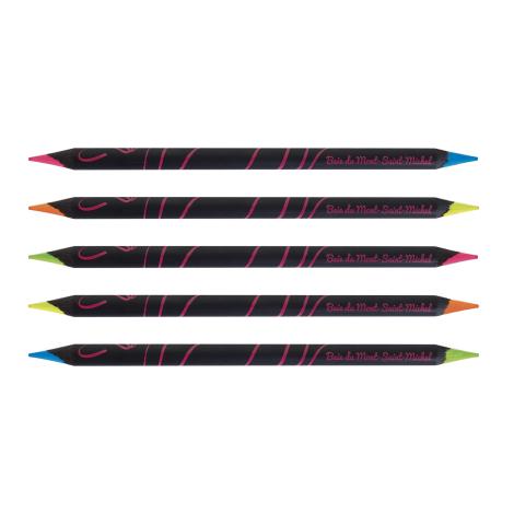 Crayon publicitaire Prestige Black fluo/fluo