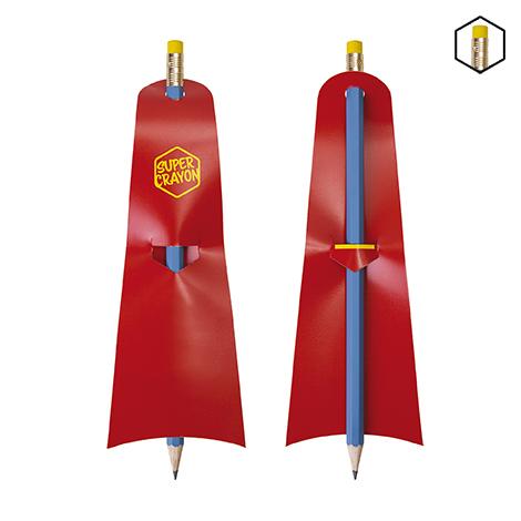 Crayon publicitaire hexagonal Eco - Le Super Crayon