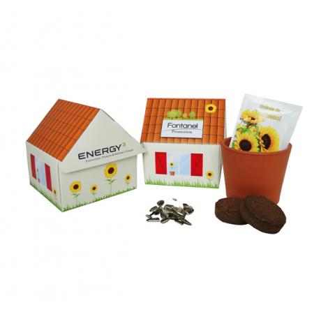Kit de plantation personnalisable - Maisonnette