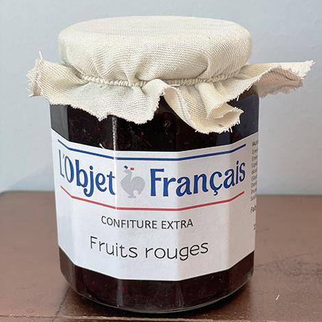 Confiture de fruits rouges personnalisable - 335 gr
