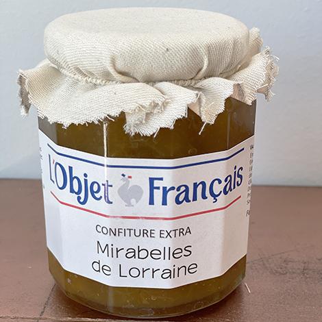 Confiture de mirabelles personnalisable - 335 gr