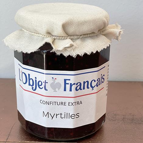 Confiture de myrtilles publicitaire - 335 gr