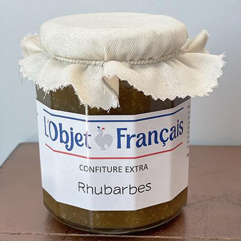 confiture de rhubarbe personnalisable - 335 gr