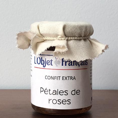 Confit de pétales de rose personnalisé - 120 gr