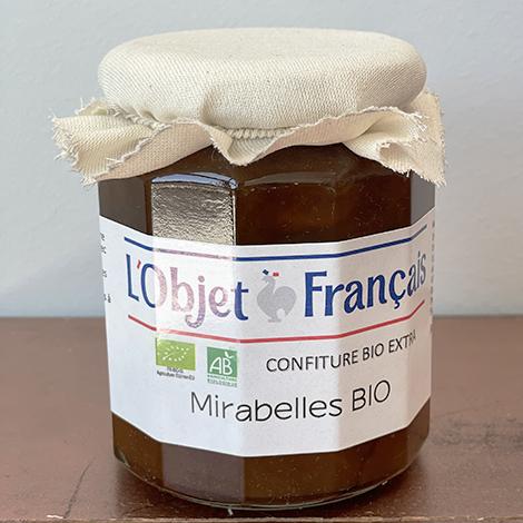 Confiture de mirabelle BIO publicitaire - 335 gr