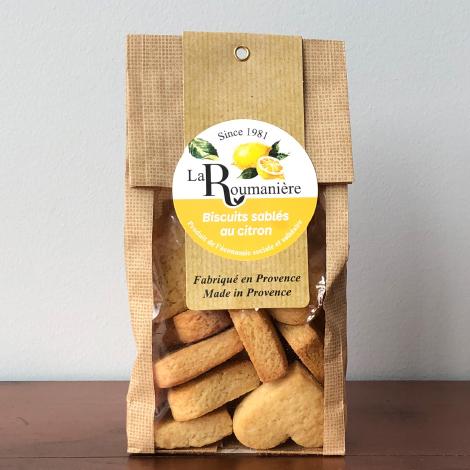 Biscuits sablés au citron personnalisable - 150 gr