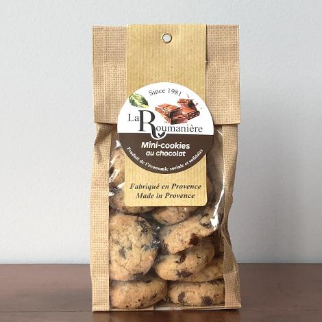 Mini cookies pépites de chocolat personnalisable - 150 gr