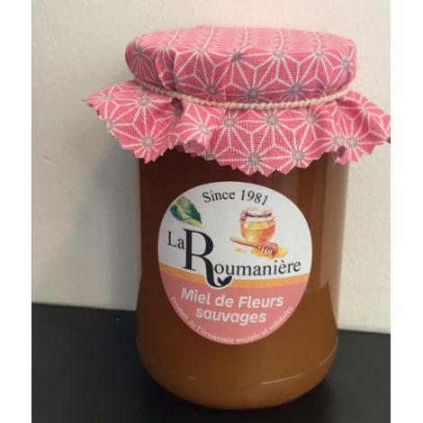 Miel de fleurs sauvages personnalisable - 250gr - 400gr