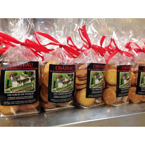 Sablés de Nançay pépites de chocolat personnalisés - 150 gr